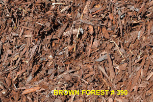 Brown Forest Recycled Bark
