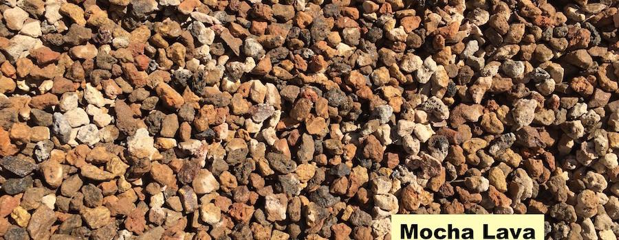 Sierra rock mocha lava 3 8 for Landscape rock delivery near me