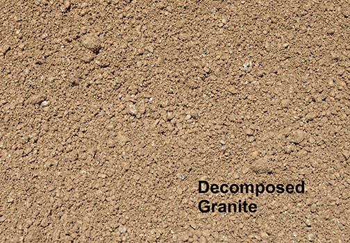 Sierra Rock Landscape Materials Golden Decomposed Granite